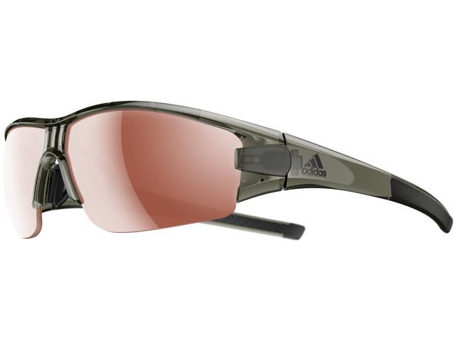 adidas Evil Eye Halfrim Okulary rowerowe brązowy/oliwkowy